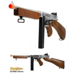 Official Electric Airsoft Thompson M1A1 Stick Mag Version